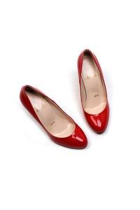 Simple Round Toe Pumps Heels
